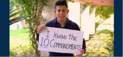 2 Minutes – I Know The Ten Commandments